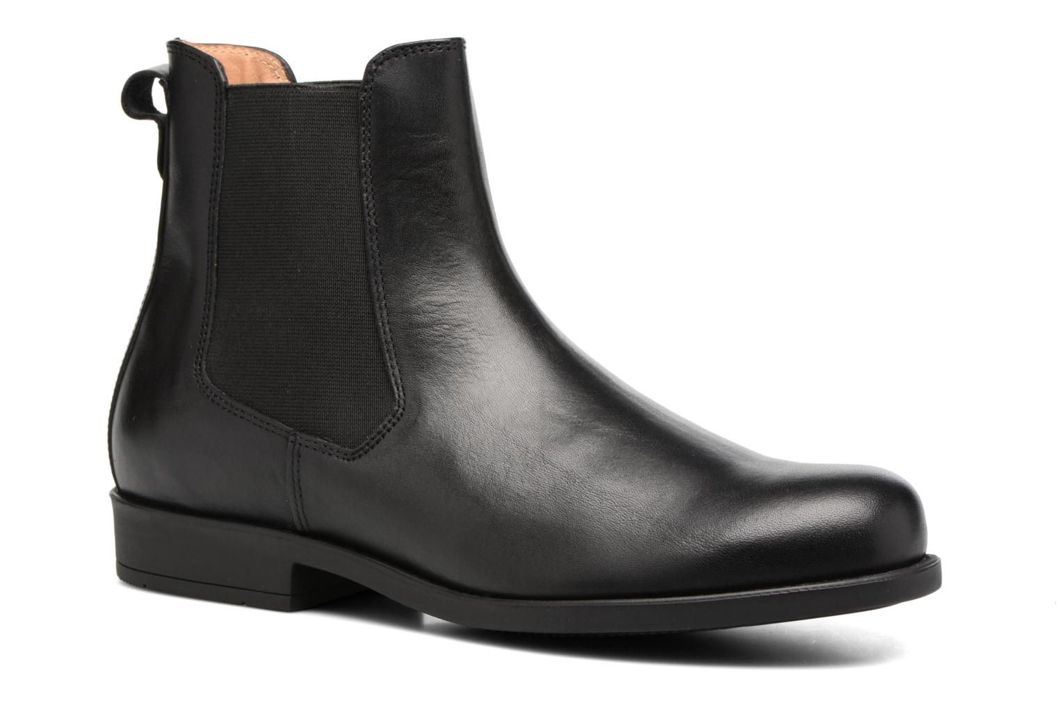 Ankle boots Aigle Orzac 2 Black detailed view/ Pair view