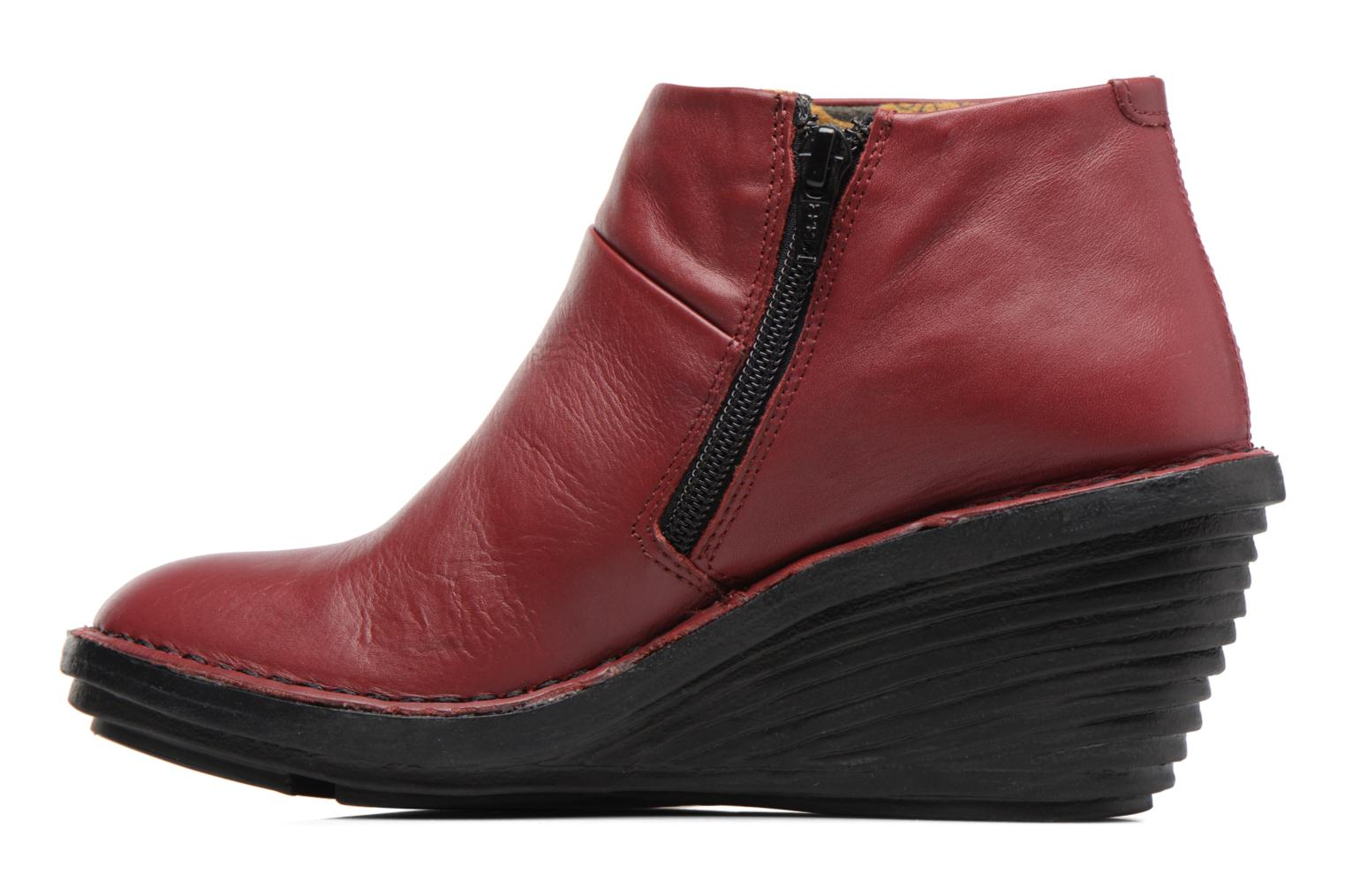 Ankle boots Fly London SIPI Burgundy front view