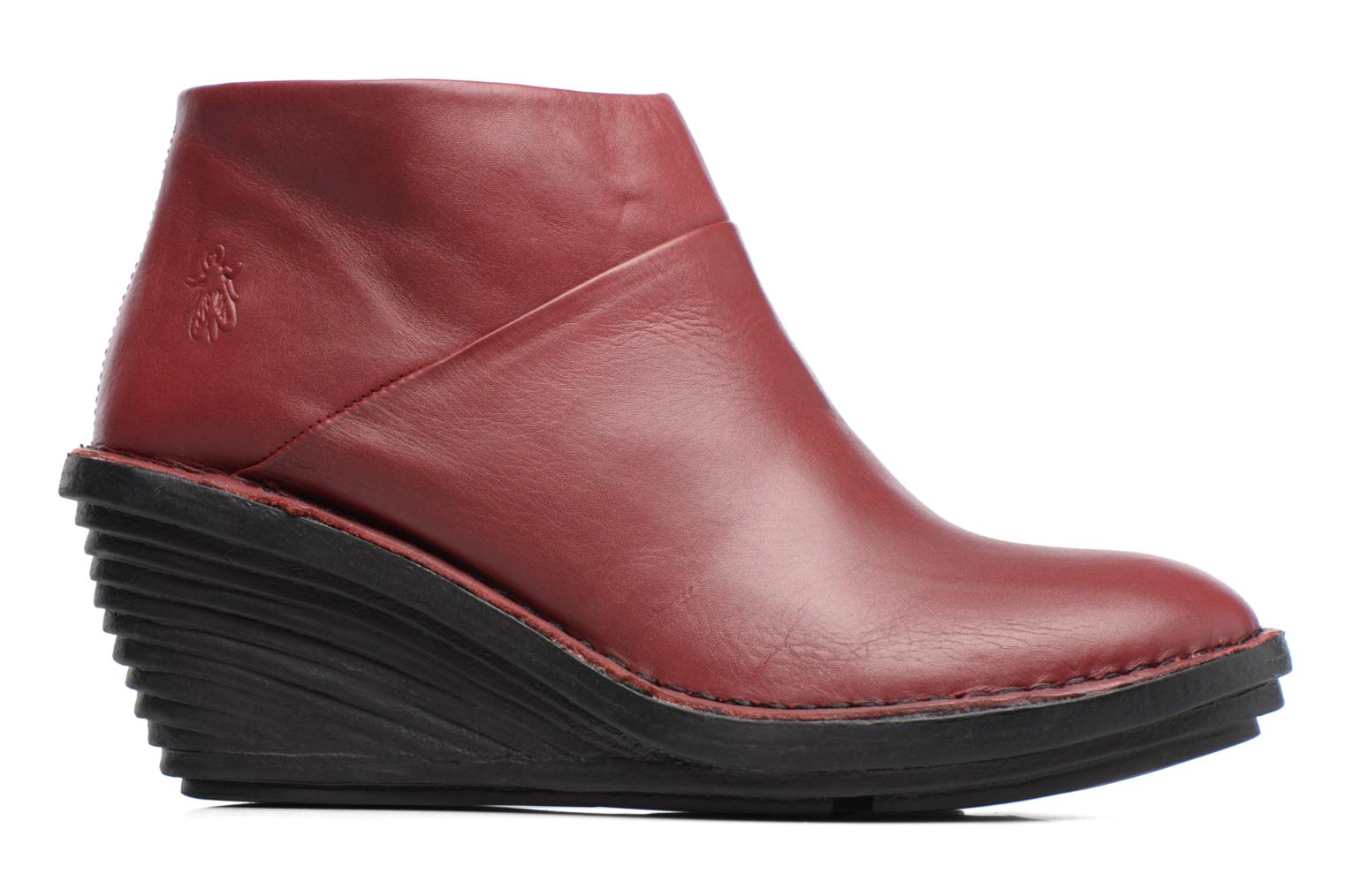 Ankle boots Fly London SIPI Burgundy back view