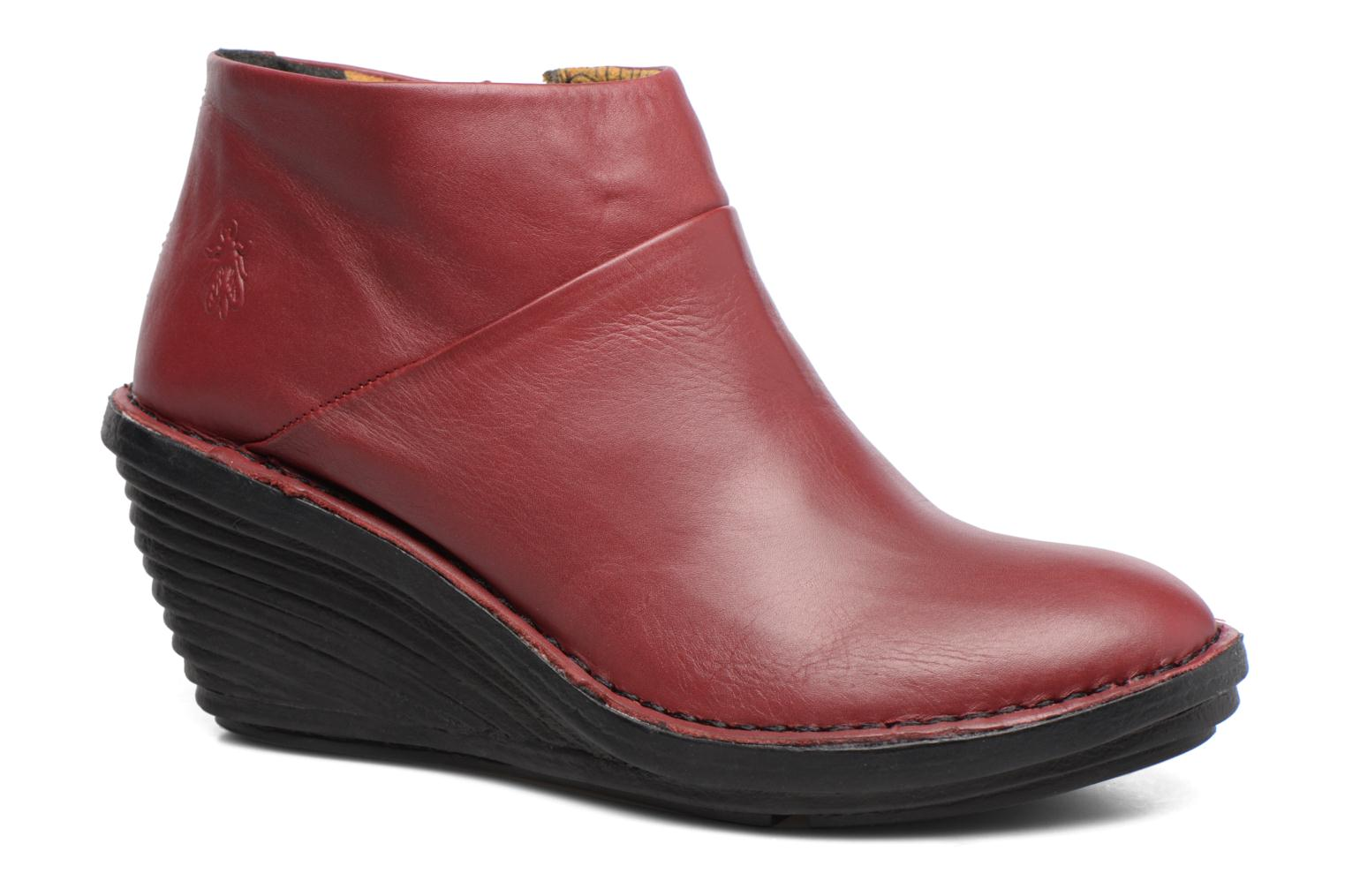 Ankle boots Fly London SIPI Burgundy detailed view/ Pair view