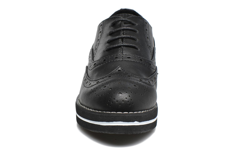 Chaussures à lacets MTNG Muestra Noir vue portées chaussures