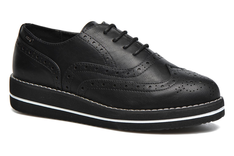 Chaussures à lacets MTNG Muestra Noir vue détail/paire