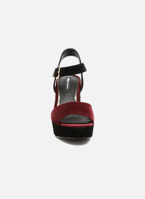 Sandales et nu-pieds MTNG Valor Bordeaux vue portées chaussures
