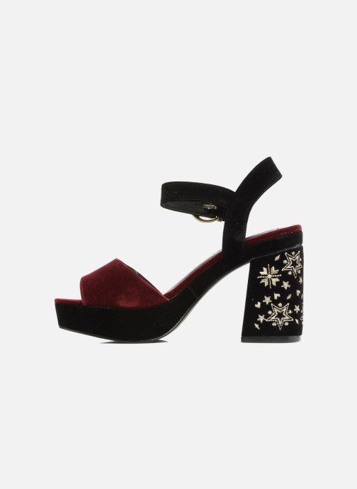 Sandales et nu-pieds MTNG Valor Bordeaux vue face