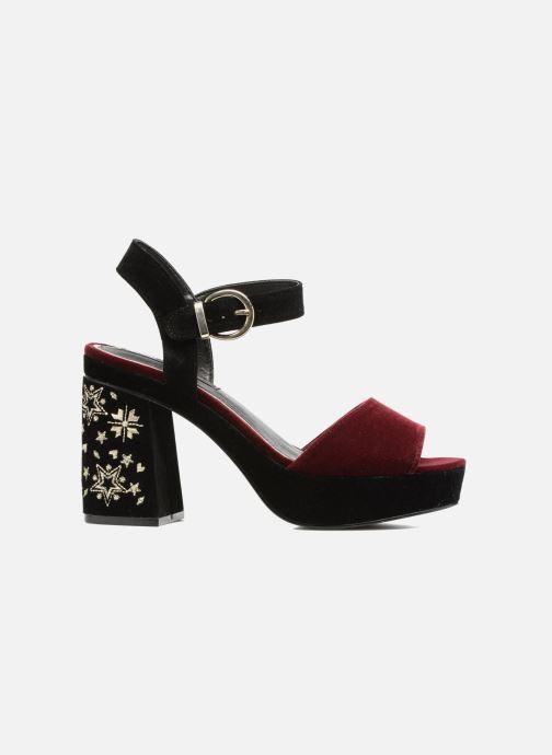 Sandales et nu-pieds MTNG Valor Bordeaux vue derrière