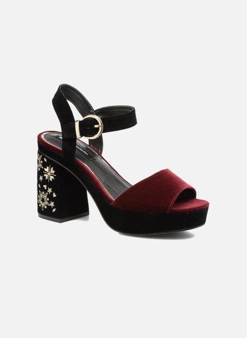 Sandales et nu-pieds MTNG Valor Bordeaux vue détail/paire