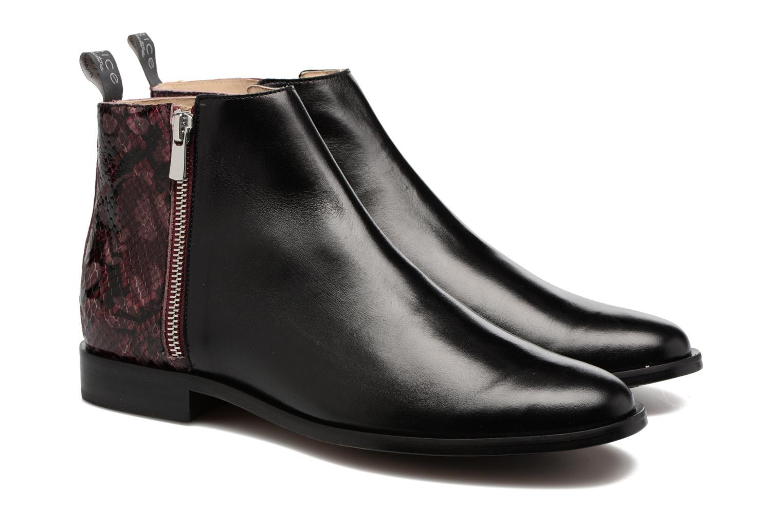 Bottines et boots MAURICE manufacture Carlita Noir vue 3/4