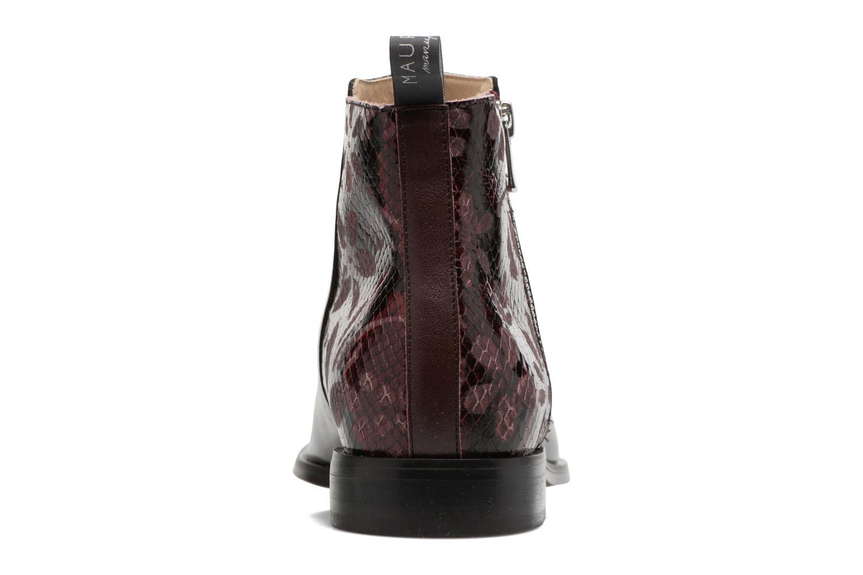 Bottines et boots MAURICE manufacture Carlita Noir vue droite