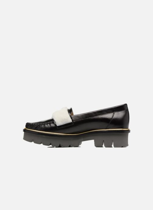 Loafers MAURICE manufacture Pat Black front view