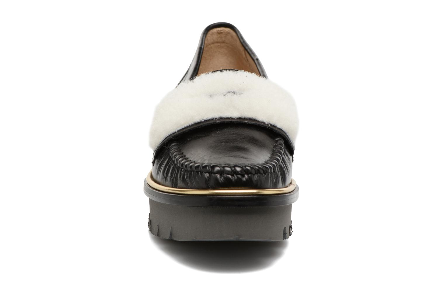 Loafers MAURICE manufacture Pat Black model view