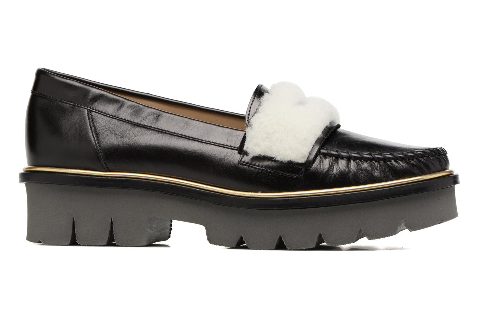 Loafers MAURICE manufacture Pat Black back view