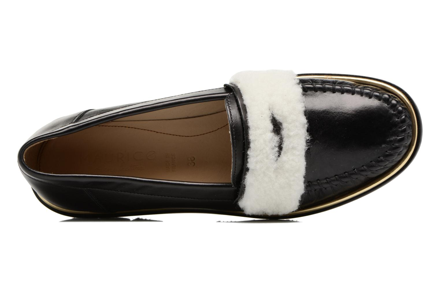 Loafers MAURICE manufacture Pat Black view from the left