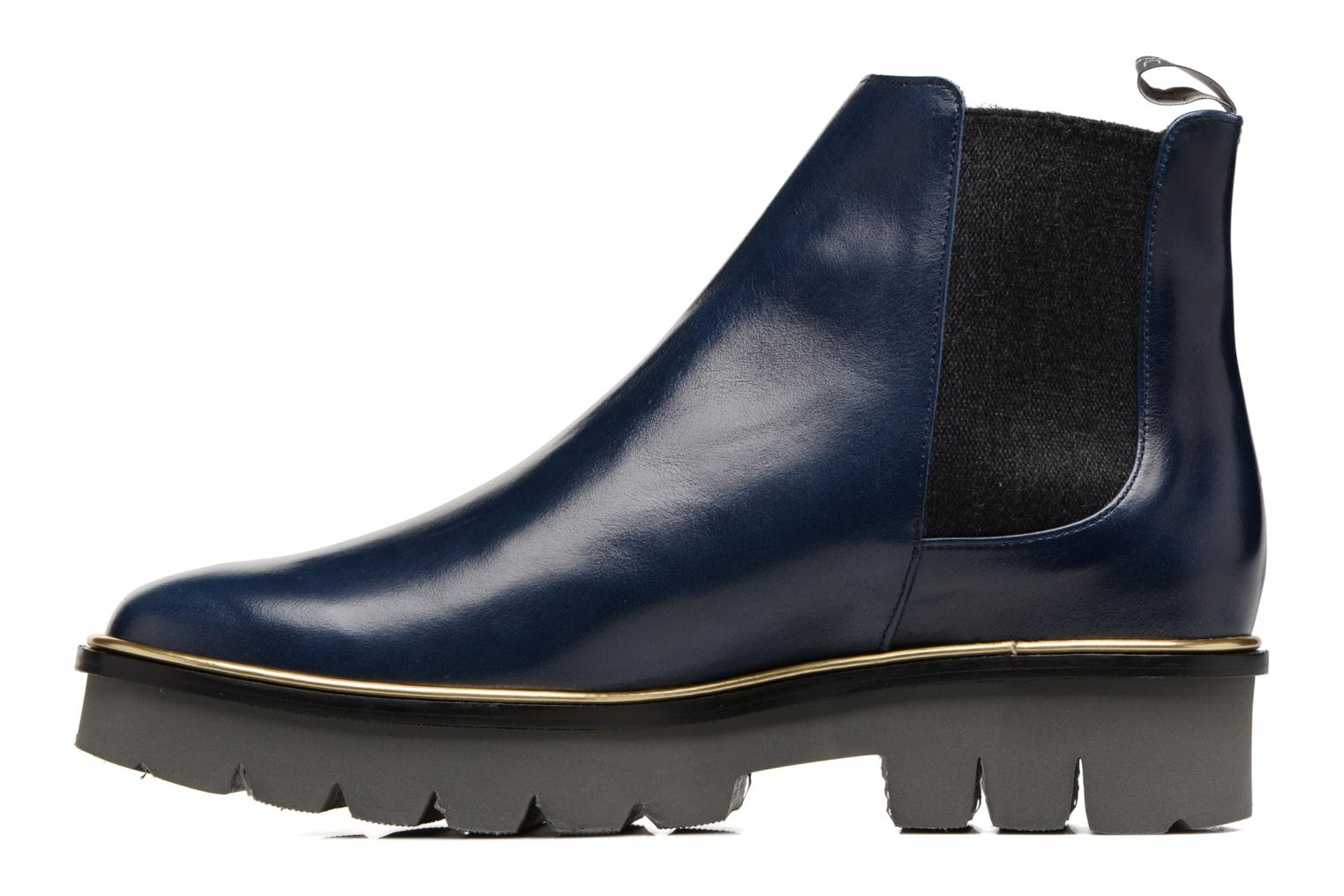 Bottines et boots MAURICE manufacture Charly Bleu vue face