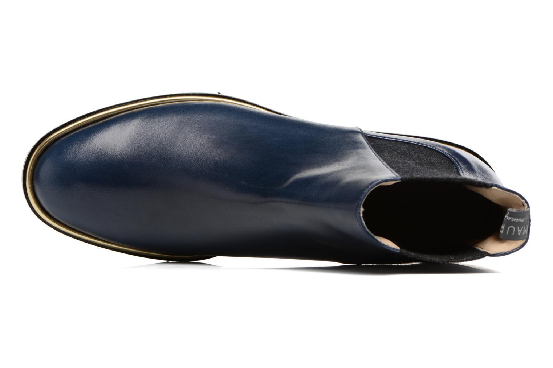 Bottines et boots MAURICE manufacture Charly Bleu vue gauche