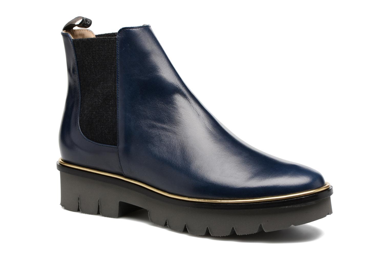 Bottines et boots MAURICE manufacture Charly Bleu vue détail/paire
