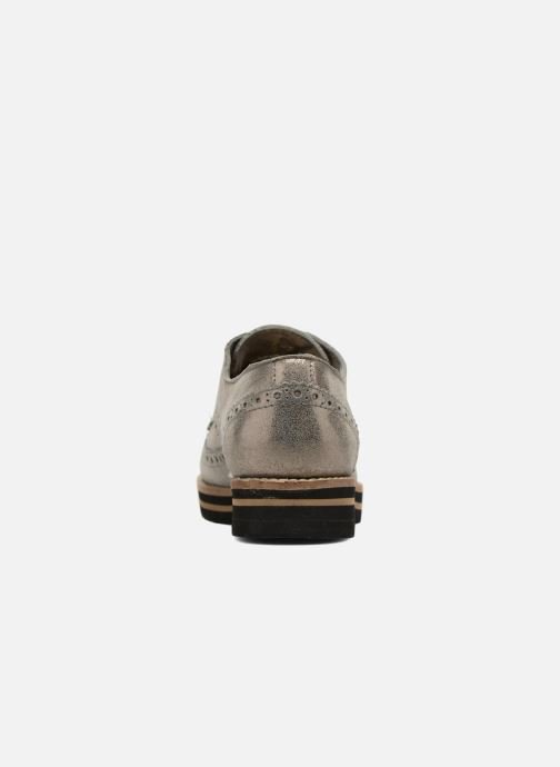 Lace-up shoes Coolway Avo Bronze and Gold view from the right