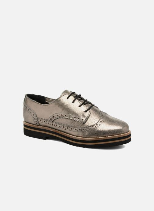 Lace-up shoes Coolway Avo Bronze and Gold detailed view/ Pair view