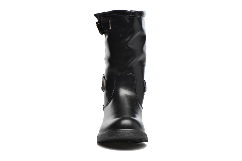 Bottes Coolway Brook Noir vue portées chaussures