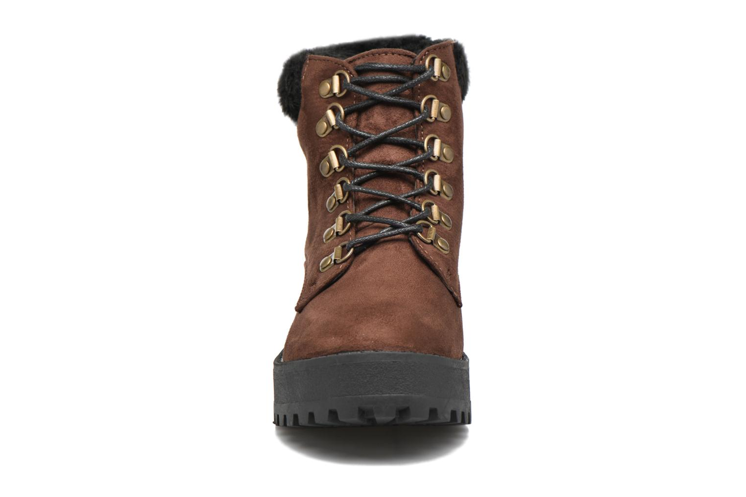 Ankle boots Coolway Moscu Brown model view