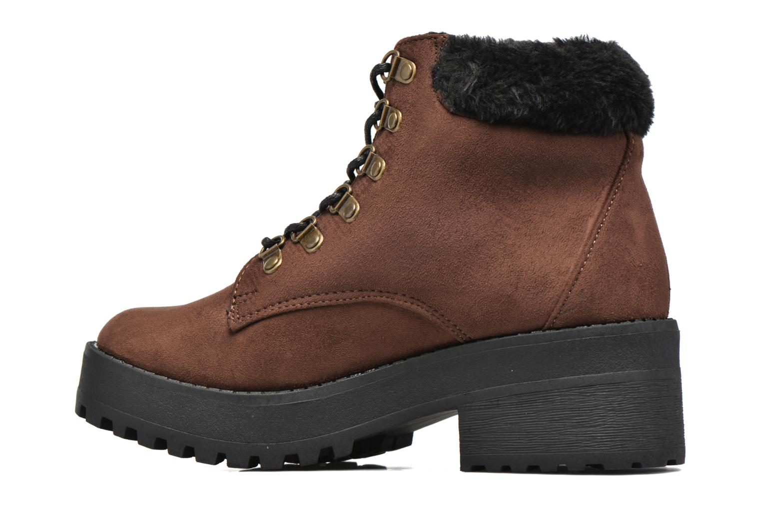 Ankle boots Coolway Moscu Brown front view