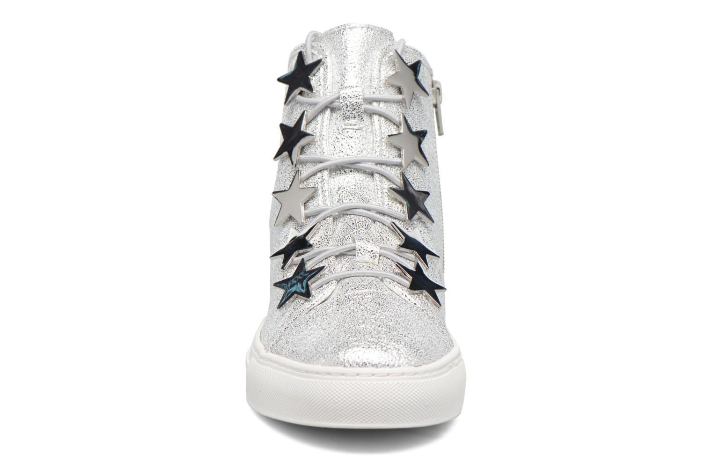 Baskets Katy Perry The Astrea Argent vue portées chaussures