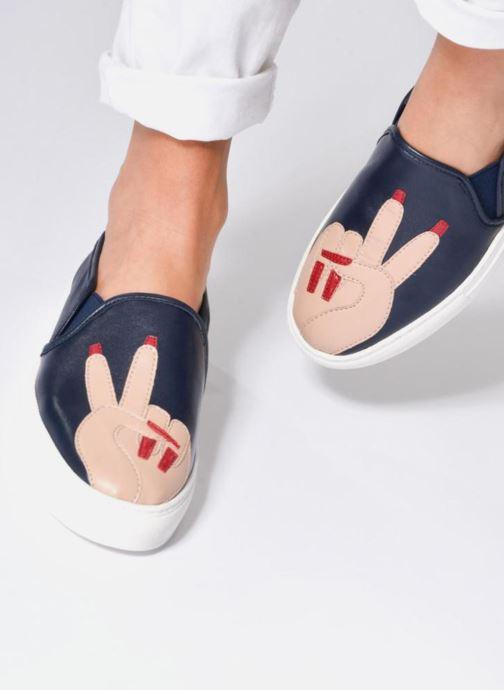 Sneakers Katy Perry The Peace Azzurro immagine dal basso