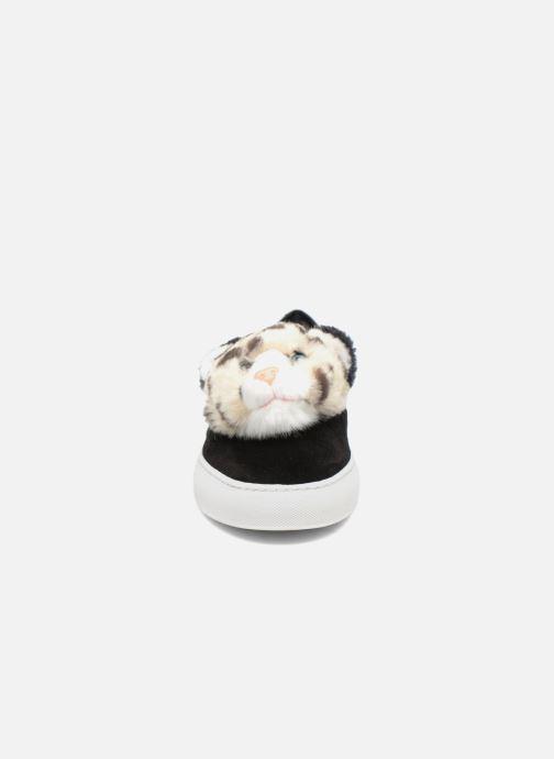 Baskets Katy Perry Lusella Noir vue portées chaussures