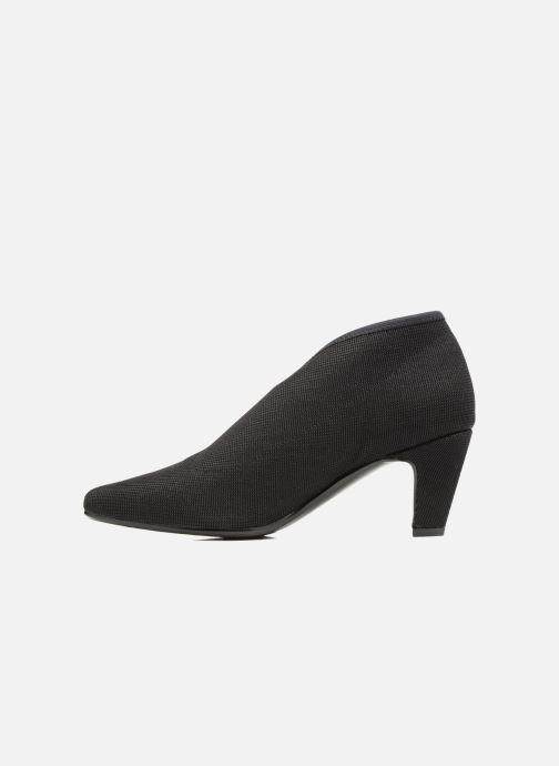 Zapatos de tacón United Nude Fold Litte Mid Negro vista de frente