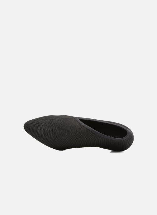 Zapatos de tacón United Nude Fold Litte Mid Negro vista lateral izquierda