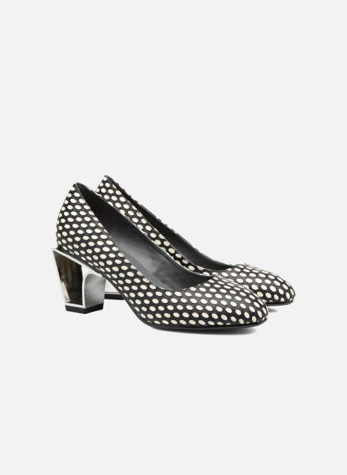Zapatos de tacón United Nude Icon Pump Mid Negro vista 3/4