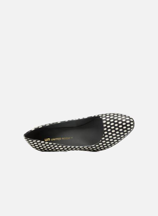 Zapatos de tacón United Nude Icon Pump Mid Negro vista lateral izquierda