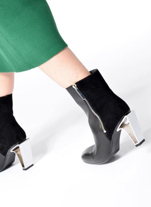Bottines et boots United Nude Icon Boot Hi Noir vue bas / vue portée sac
