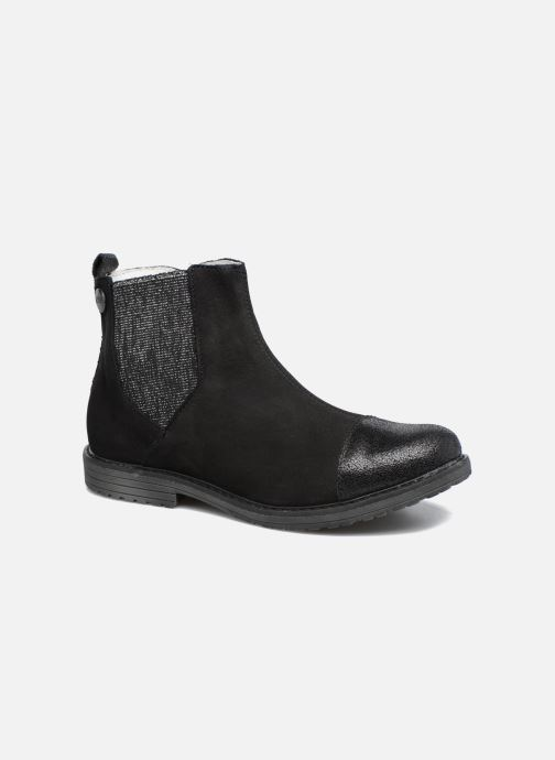 Ankle boots Achile Leontina Black detailed view/ Pair view