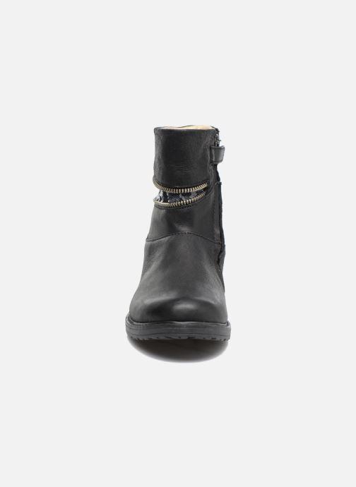 Bottines et boots Achile Mafalda Noir vue portées chaussures