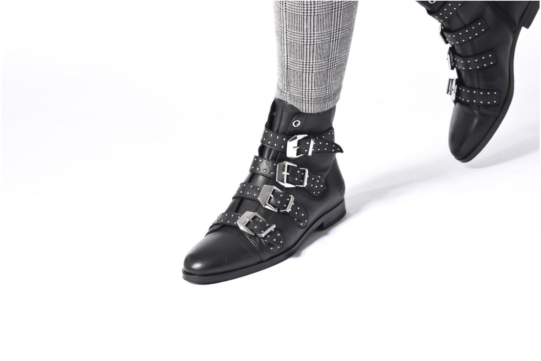 Bottines et boots Melvin & Hamilton Susane 44/R Noir vue bas / vue portée sac