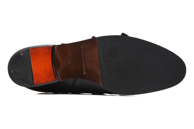 Bottines et boots Melvin & Hamilton Susane 44/R Noir vue haut