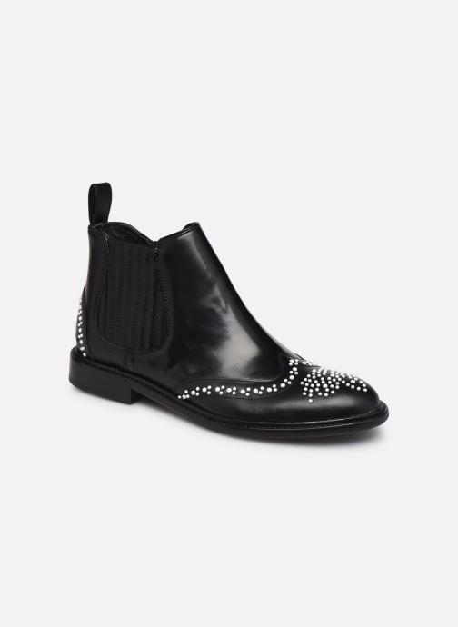 Boots en enkellaarsjes Melvin & Hamilton Sally 46 Zwart detail