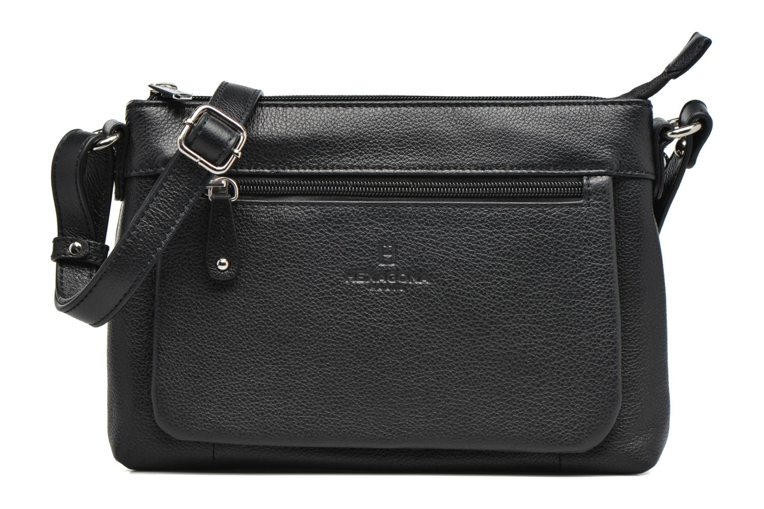 Pretty Pretty Crossbody Cuir Hexagona Hexagona Hexagona Noir Cuir Cuir Hexagona Pretty Crossbody Noir Noir Crossbody 7xFqOntU0w