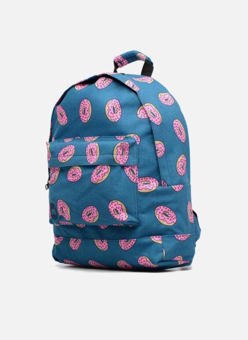 Per la scuola Mi-Pac Premium Print Backpack Azzurro modello indossato