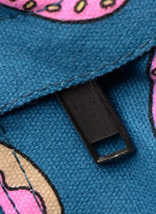 Schooltassen Mi-Pac Premium Print Backpack Blauw links