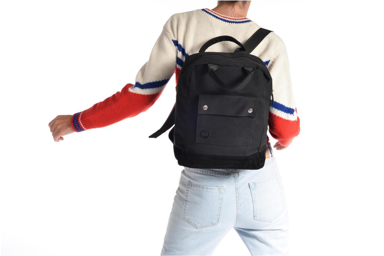 Sacs à dos Mi-Pac Tote Backpack Noir vue haut