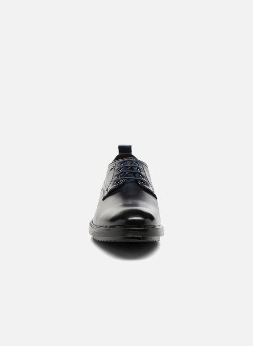 Chaussures à lacets Base London Elba Bleu vue portées chaussures