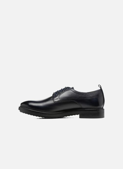 Chaussures à lacets Base London Elba Bleu vue face