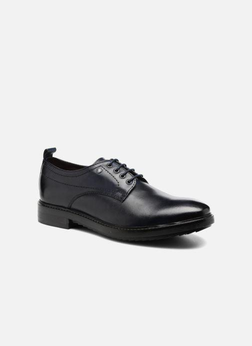 Chaussures à lacets Base London Elba Bleu vue détail/paire