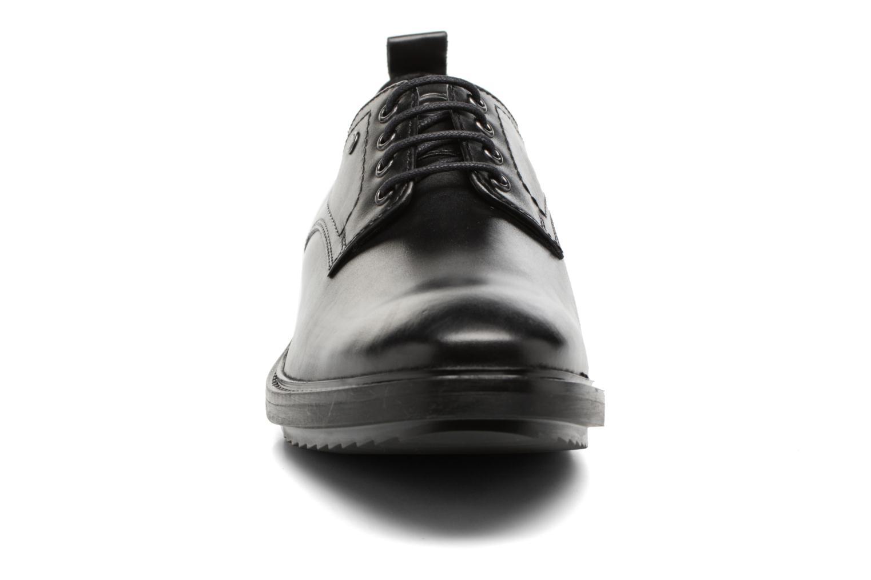 Lace-up shoes Base London Elba Black model view