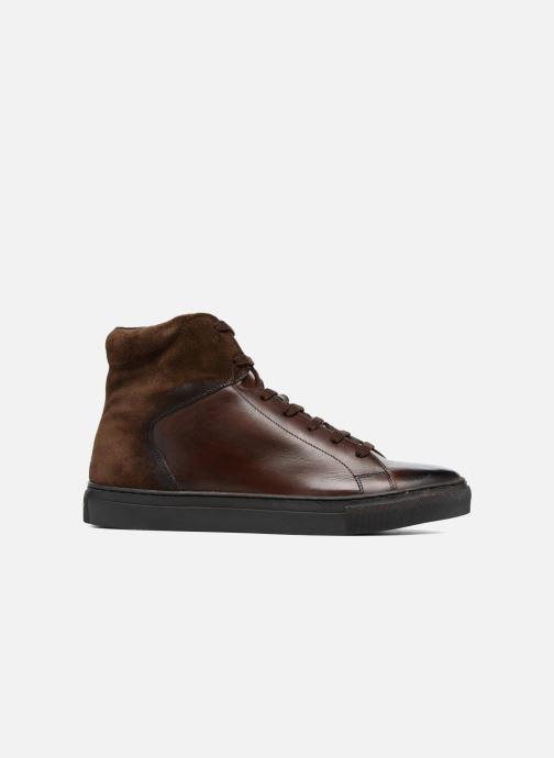 Sneakers Base London Jarret Marrone immagine posteriore