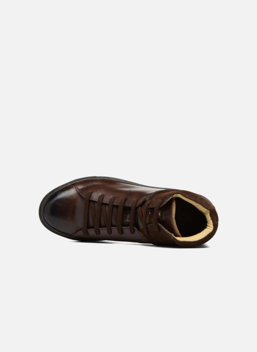Sneakers Base London Jarret Marrone immagine sinistra