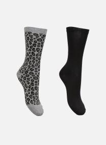 Strømper og tights Accessories Duo Chaussettes Coton Léopard Lot de 2