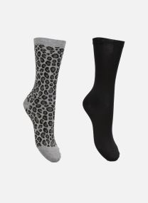 Strømper og tights Accessories Duo Chaussettes Coton Léopard Lot de 2