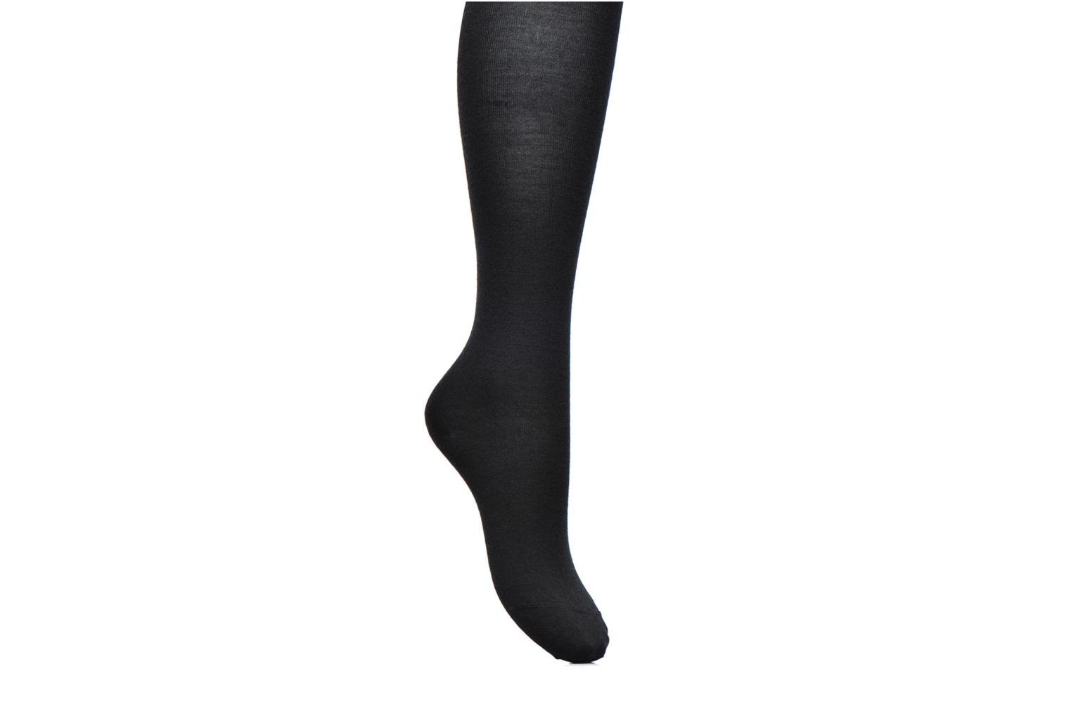 Socks & tights BLEUFORÊT Collants Laine Fine Intérieur Coton Black detailed view/ Pair view